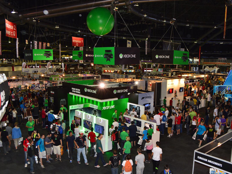 Expo Exhibition Stands Xbox One : Exhibition stands u concept g