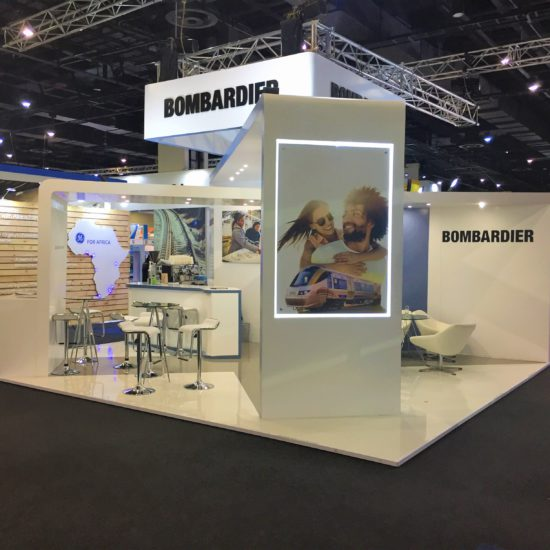 Bombadier at Africa Rail