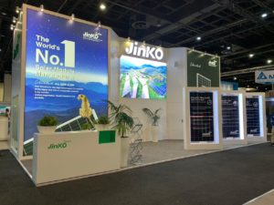 Jinko at the Solar Show 2018